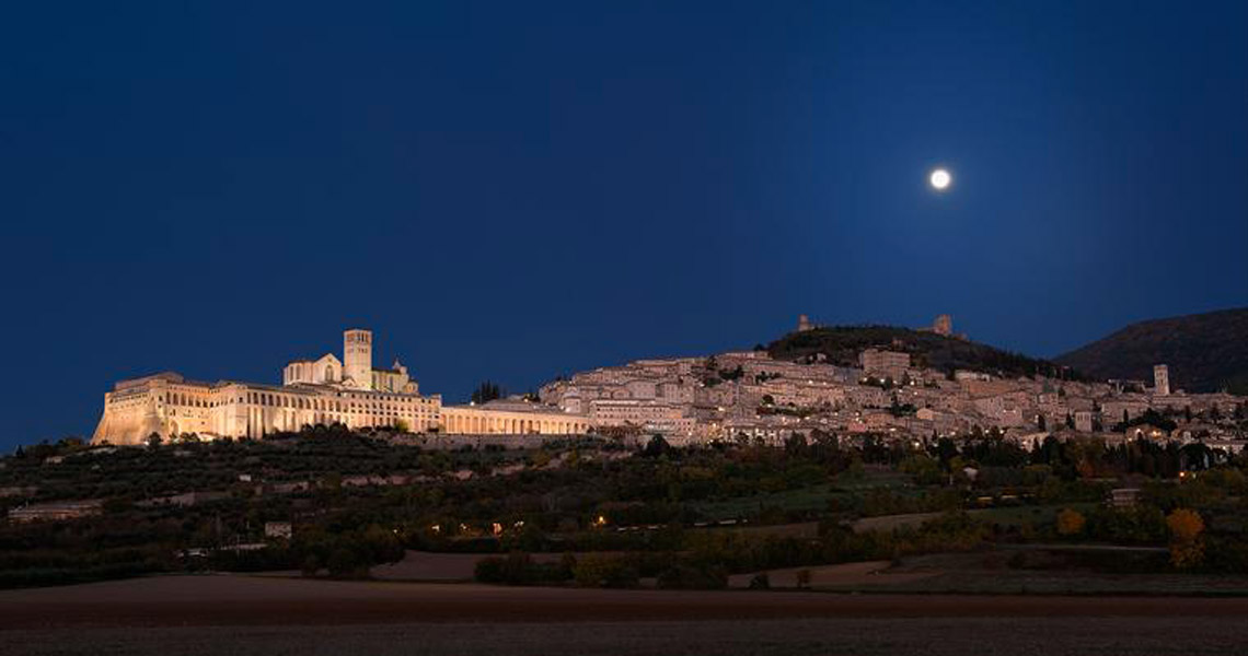 Assisi-By-Night