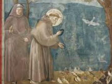 Dettaglio affresco Giotto